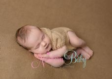 BIGGER BABY ~  Hooded Romper